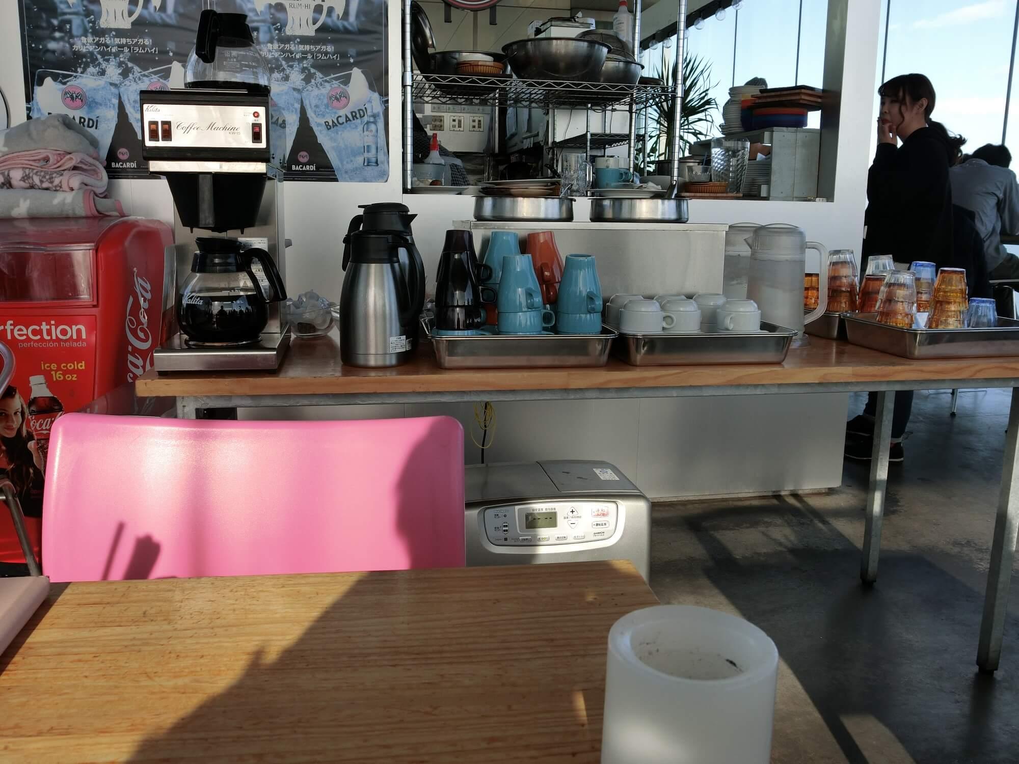 【日立市カフェ】シーバーズカフェ(sea birds cafe)|内観3