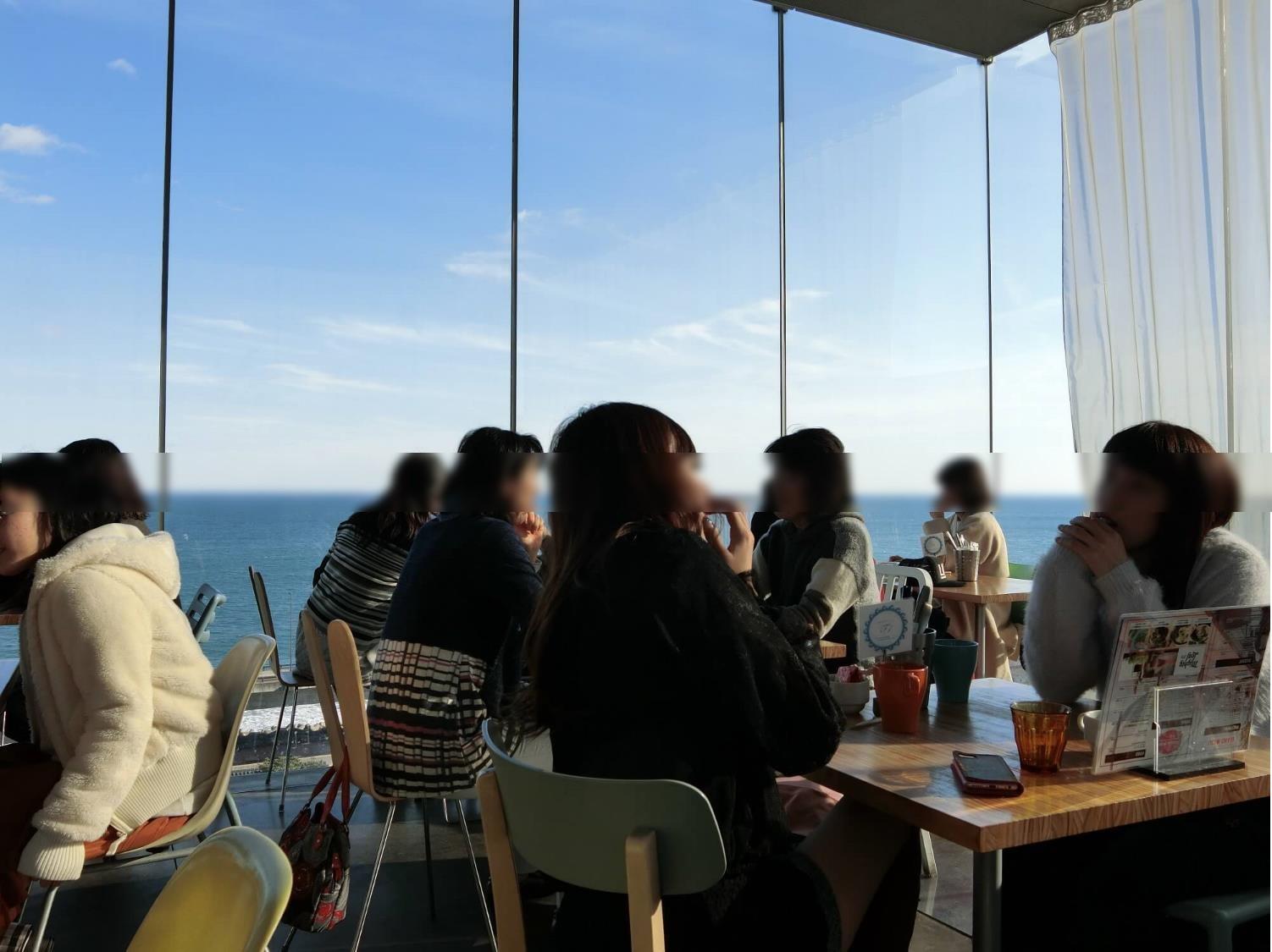 【日立市カフェ】シーバーズカフェ(sea birds cafe) 内観2