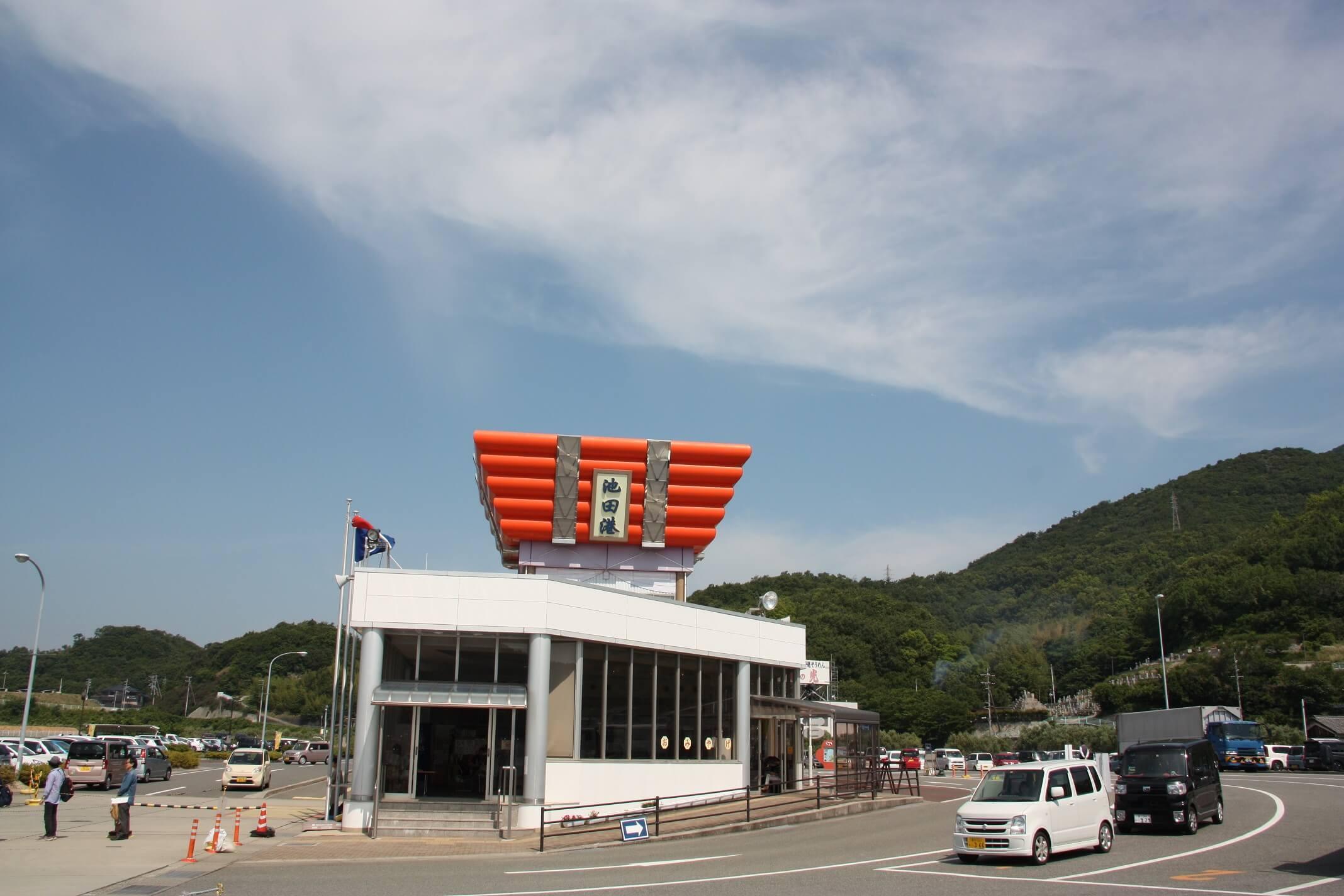 小豆島池田港