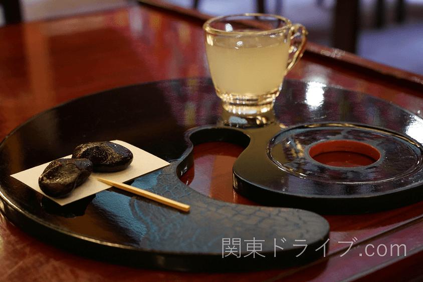 【阿智村旅館】昼神温泉石苔亭いしだのウェルカムドリンク