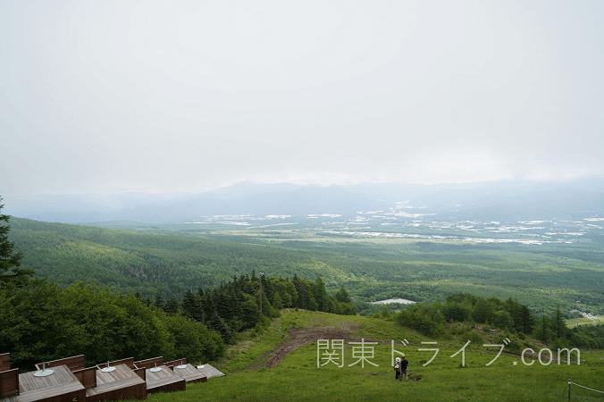清里テラスから見た風景