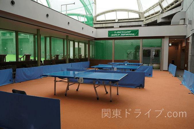 【小田原ホテル】ヒルトン小田原の卓球コーナー