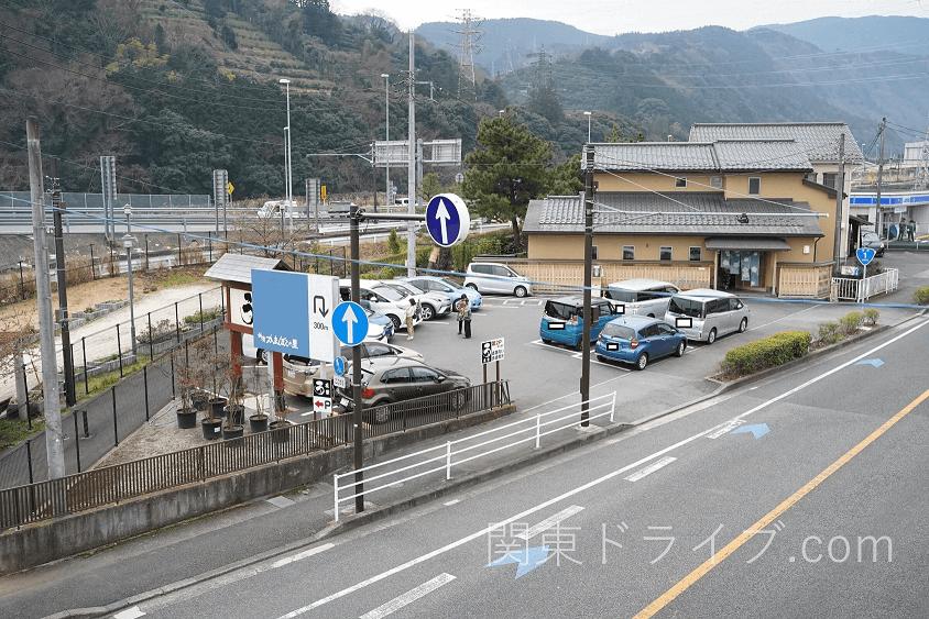 小田原うなぎ「友栄」の第1駐車場
