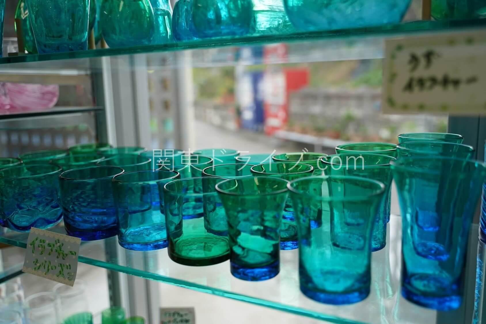 「匠工房」の琉球ガラス1