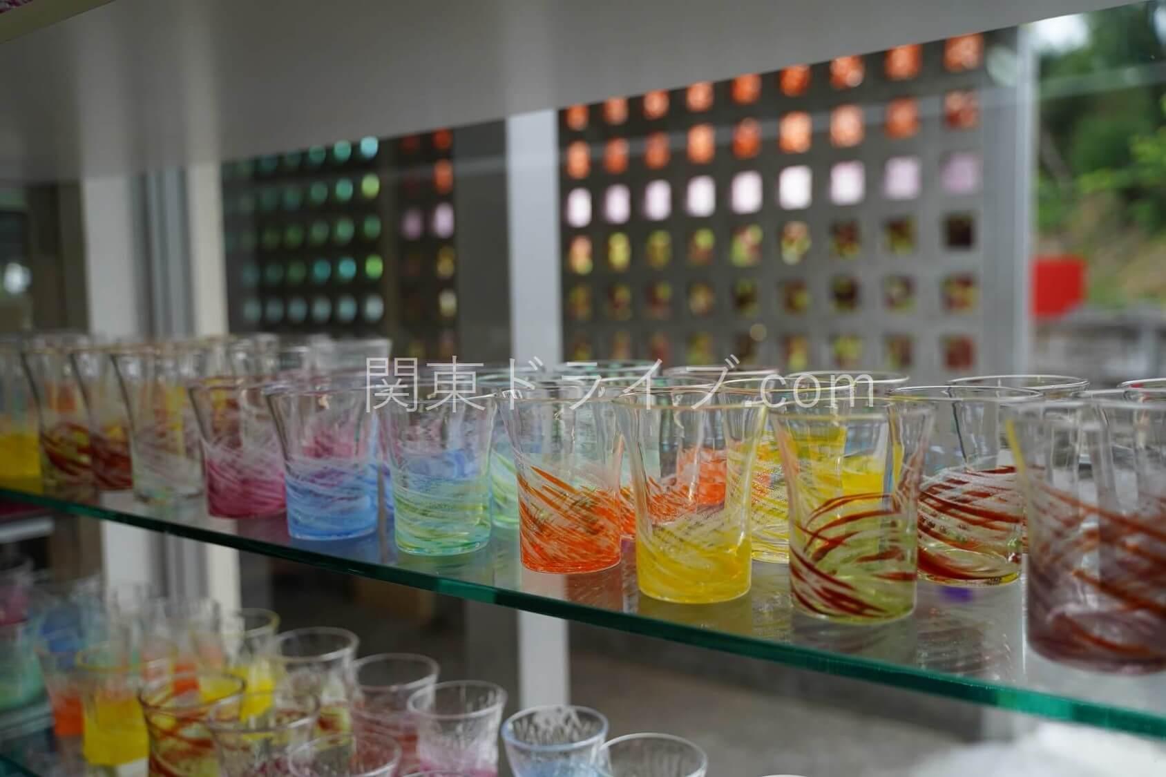 「匠工房」の琉球ガラス2