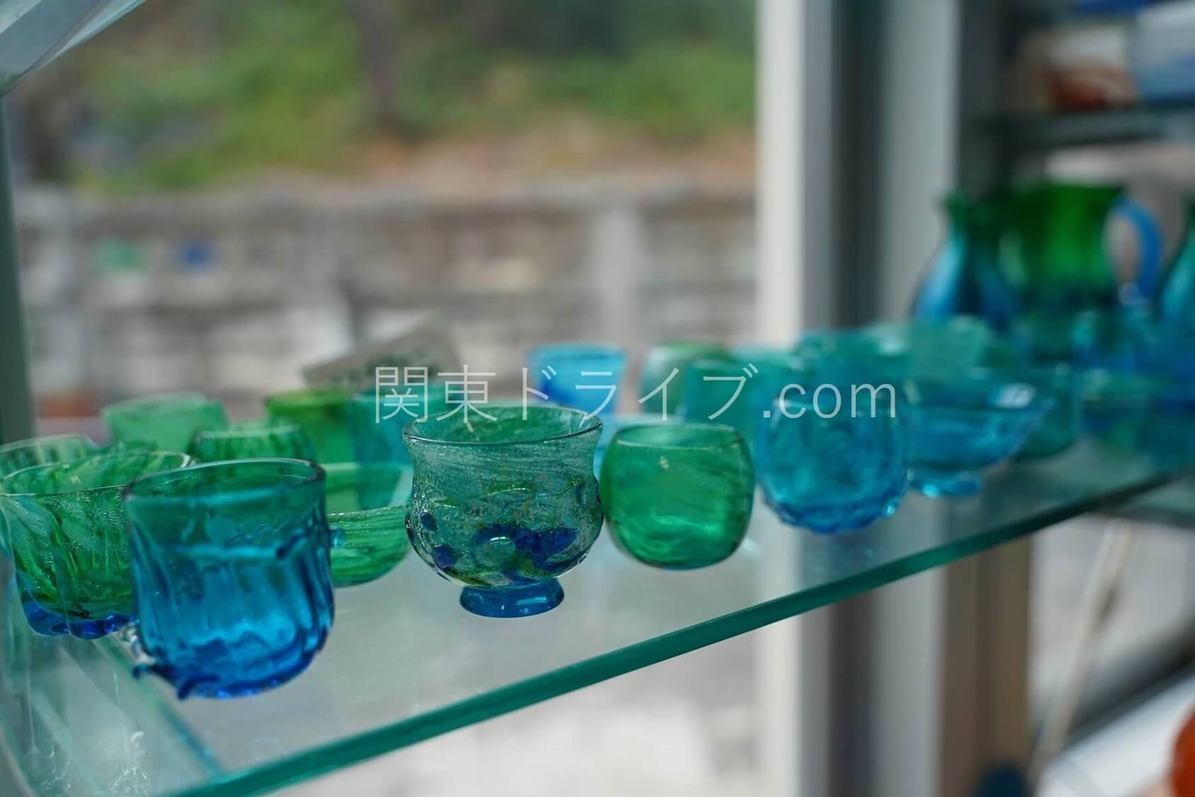 「匠工房」の琉球ガラス3