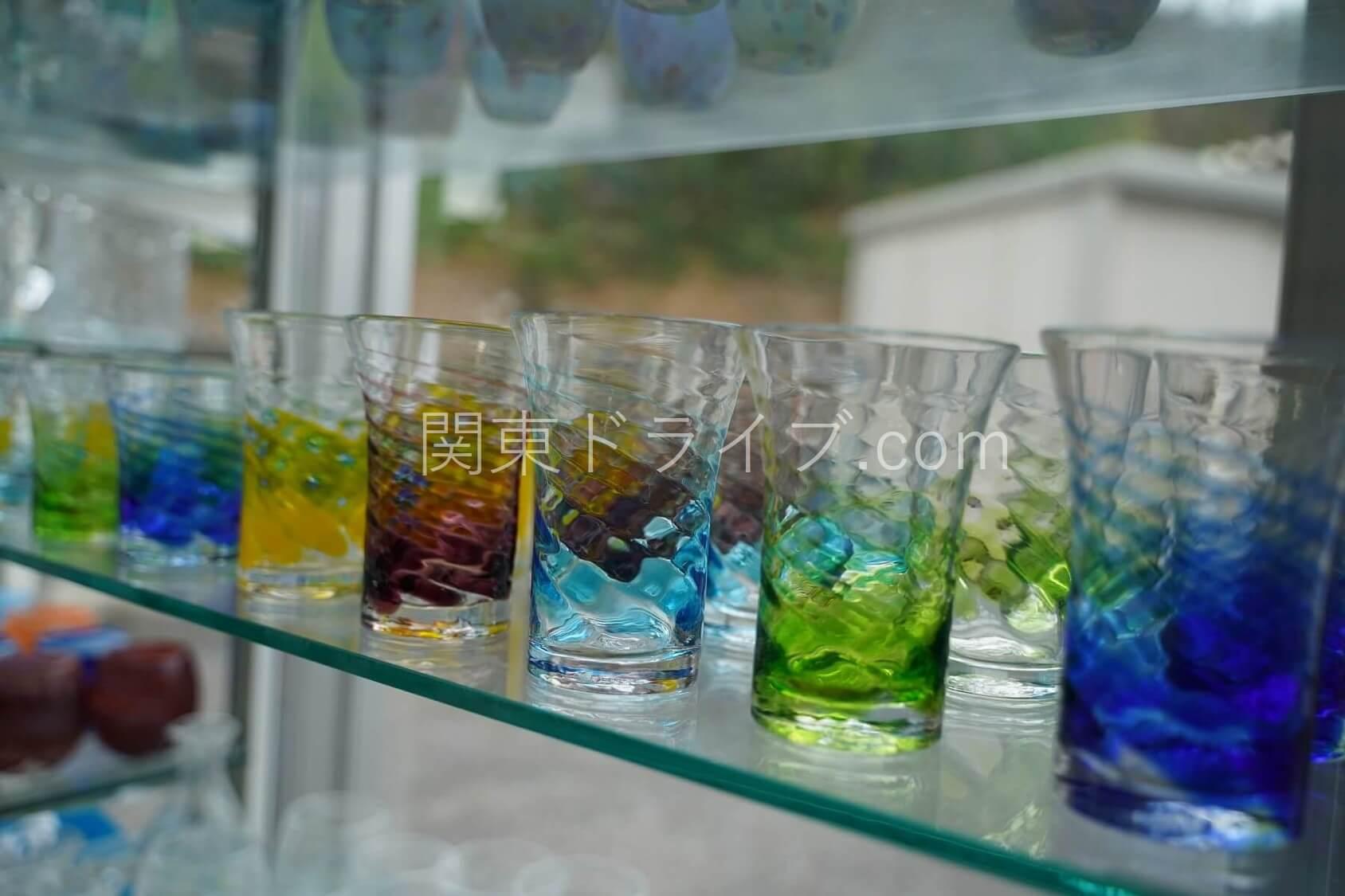 「匠工房」の琉球ガラス4