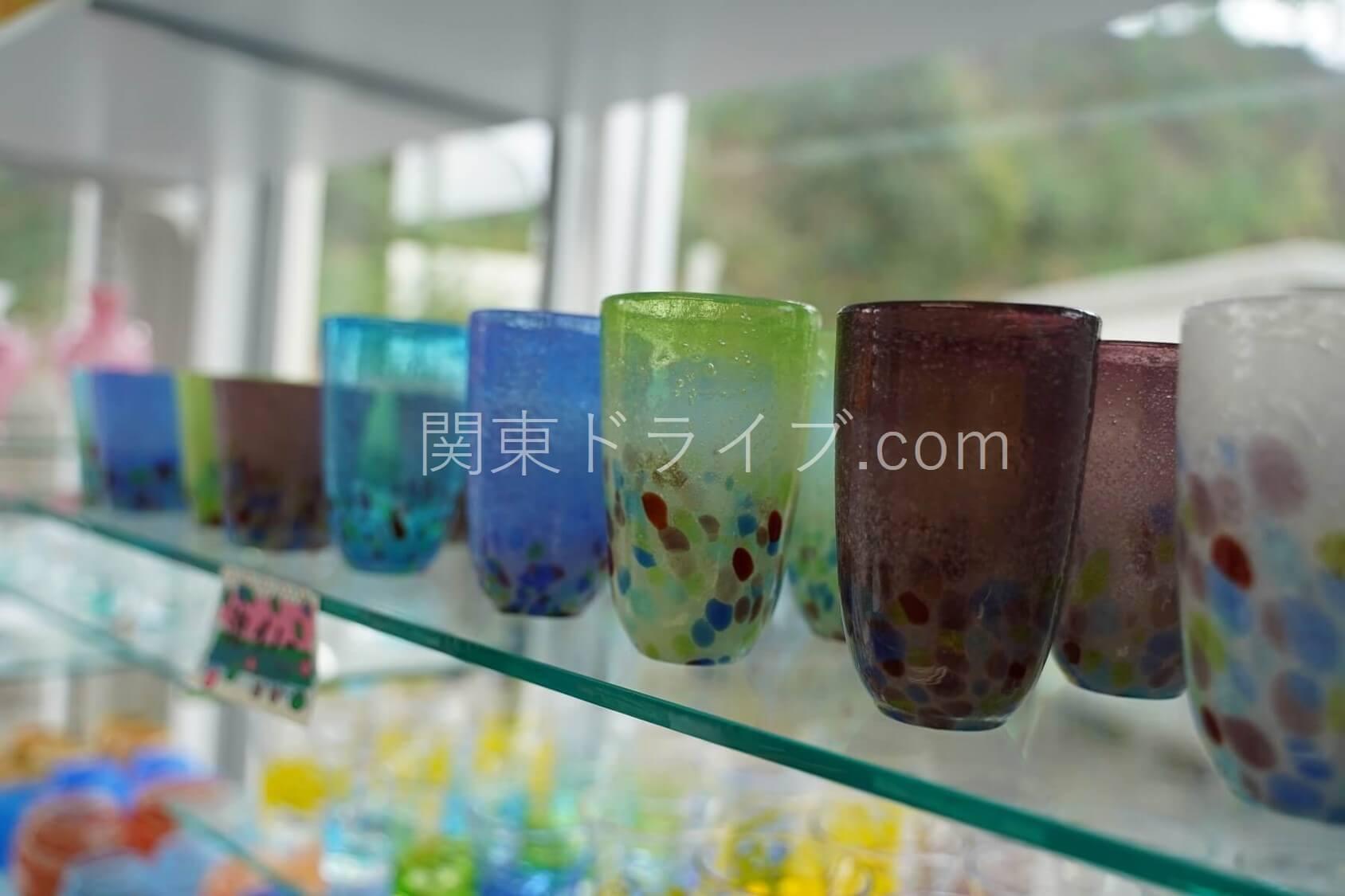 「匠工房」の琉球ガラス5