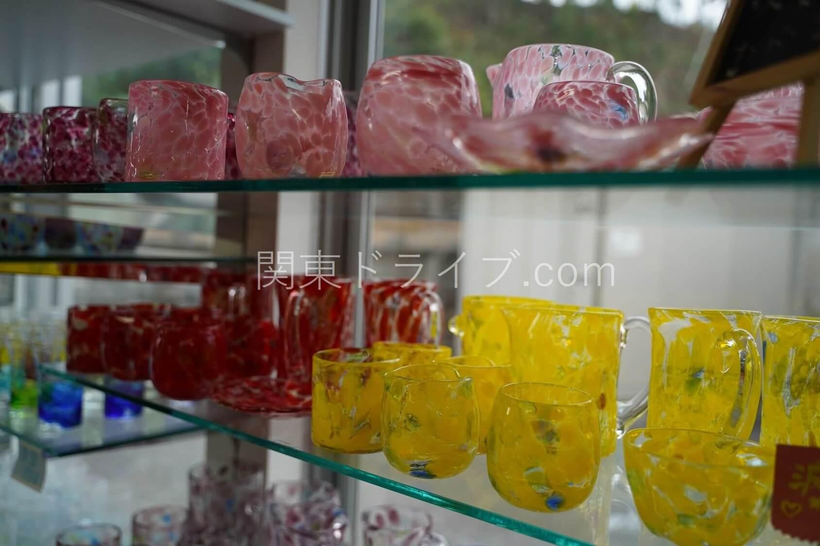 「匠工房」の琉球ガラス6