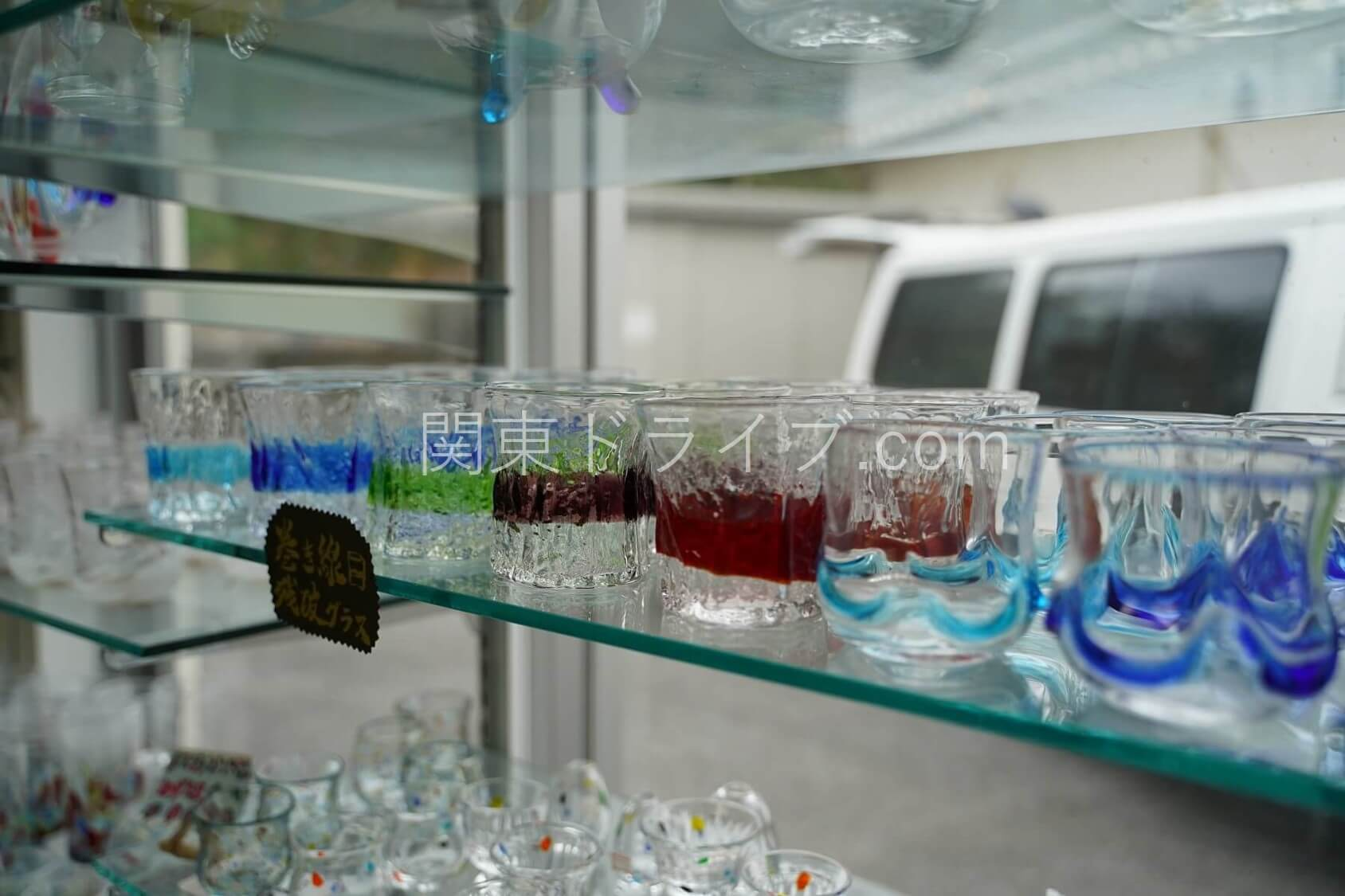 「匠工房」の琉球ガラス7