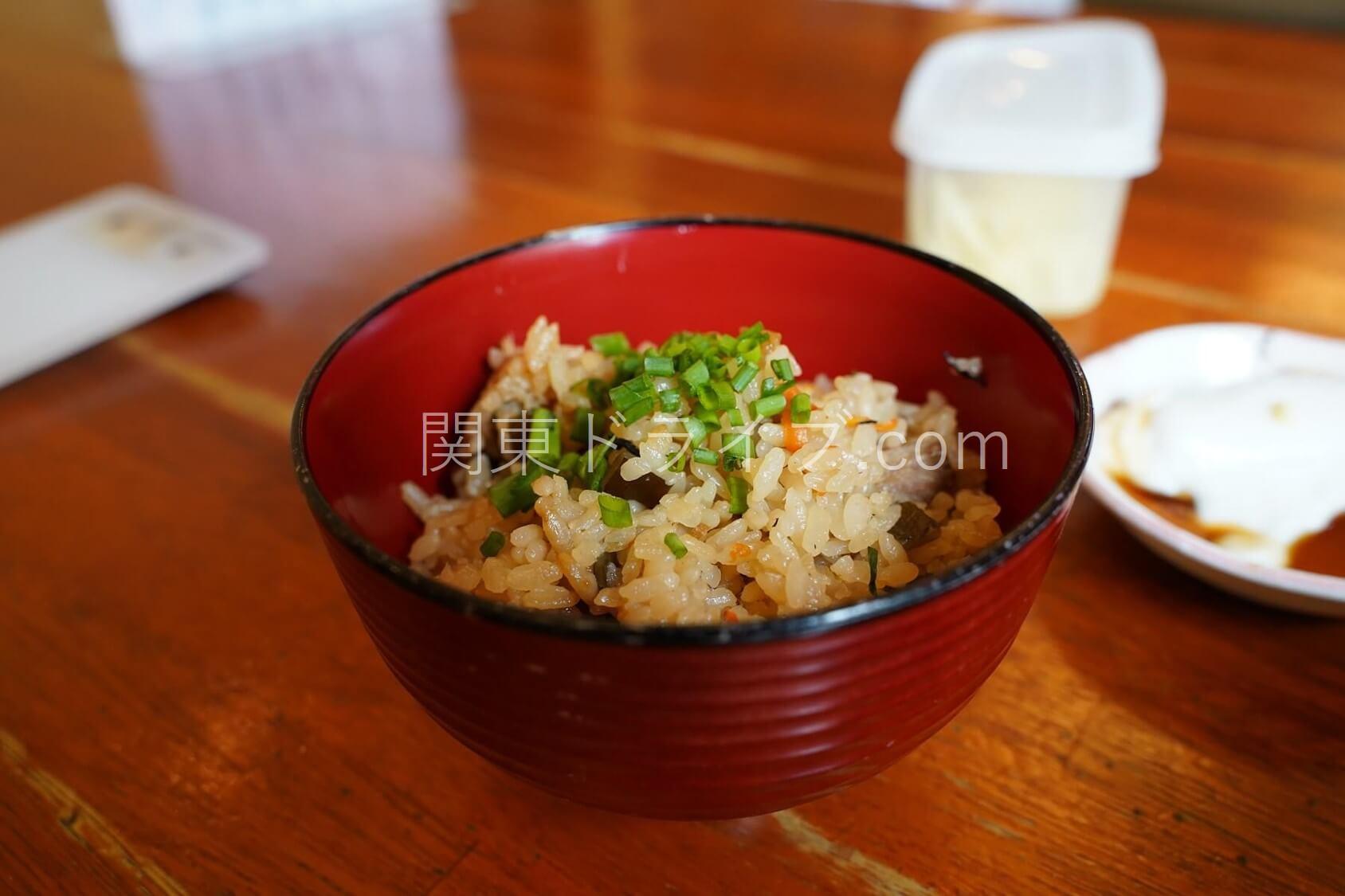 沖縄そば「たから家」の料理2