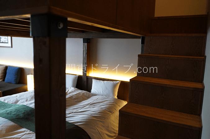 界アルプスの客室1