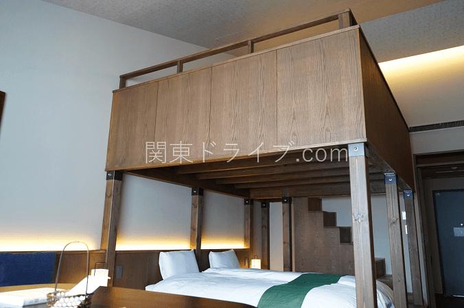 界アルプスの客室3