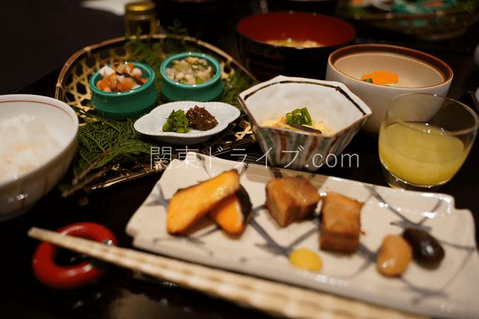 界アルプスの食事(夕食・朝食)7