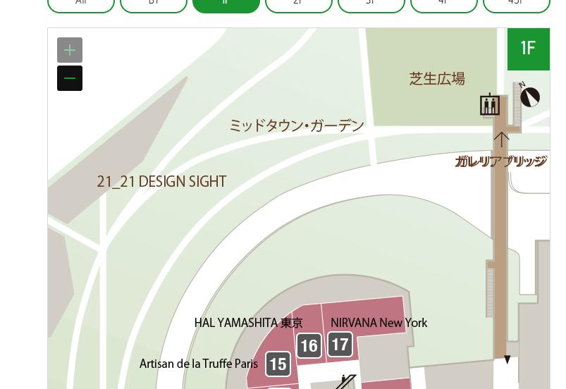 HAL YAMASHITA(ハルヤマシタ)のロケーション