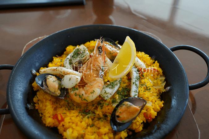 葉山ホテル音羽ノ森カフェテラスの料理1