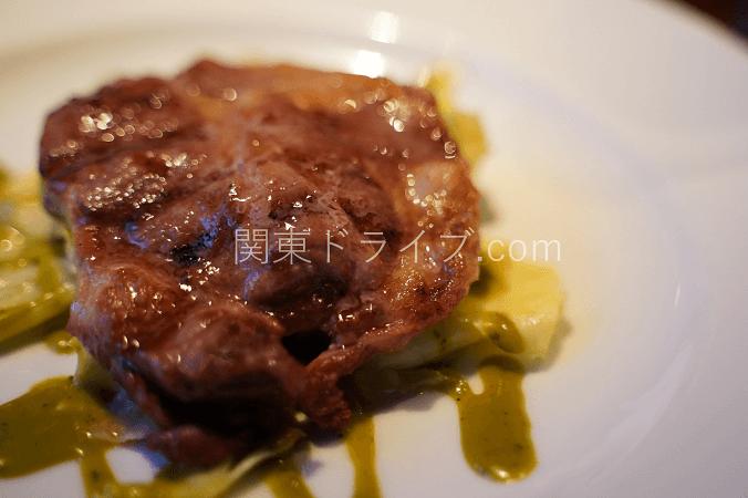 沢村旧軽井沢店のディナー4